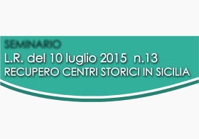 28.11.2015 | RECUPERO CENTRI STORICI IN SICILIA