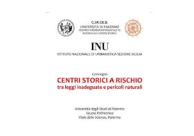 25-26.11.2016 | CENTRI STORICI A RISCHIO