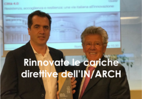 11.04.2018 | Rinnovate le cariche direttive dell'IN/ARCH