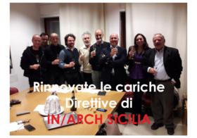 17.12.2018 | Rinnovate le cariche direttive di IN/ARCH Sicilia