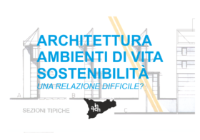 13.04.2019 | ARCHITETTURA, AMBIENTI DI VITA E SOSTENIBILITA'